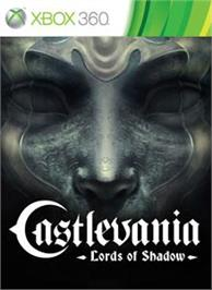 Box cover for Castlevania LoS on the Microsoft Xbox 360.