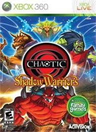 Box cover for Chaotic on the Microsoft Xbox 360.