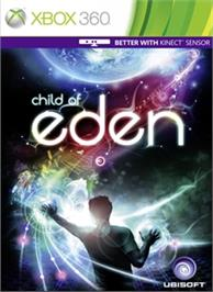 Box cover for Child of Eden on the Microsoft Xbox 360.