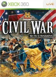 Box cover for Civil War on the Microsoft Xbox 360.