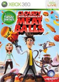 Box cover for Cloudy with a... on the Microsoft Xbox 360.
