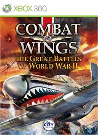Box cover for Combat Wings: GBWWII on the Microsoft Xbox 360.