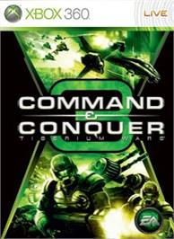 Box cover for Command and Conquer 3 on the Microsoft Xbox 360.