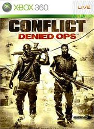 Box cover for Conflict: Denied Ops on the Microsoft Xbox 360.