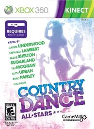 Box cover for Country Dance All Stars on the Microsoft Xbox 360.
