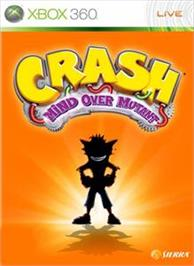 Box cover for Crash Mind Over Mutant on the Microsoft Xbox 360.