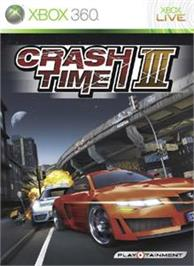 Box cover for Crash Time 3 on the Microsoft Xbox 360.