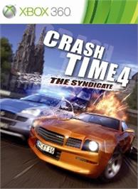 Box cover for Crash Time 4 - The Syndicate on the Microsoft Xbox 360.