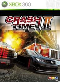 Box cover for Crash Time II on the Microsoft Xbox 360.