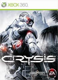 Box cover for Crysis on the Microsoft Xbox 360.