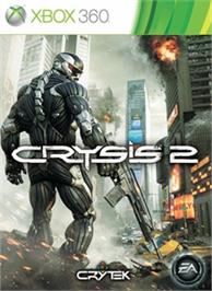 Box cover for Crysis 2 on the Microsoft Xbox 360.