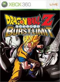 Box cover for DBZ: BURST LIMIT on the Microsoft Xbox 360.