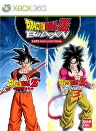 Box cover for DBZ Budokai HD Collection on the Microsoft Xbox 360.