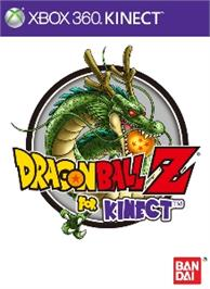 Box cover for DBZ for Kinect on the Microsoft Xbox 360.