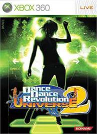 Box cover for DDR/DS Universe 2 on the Microsoft Xbox 360.