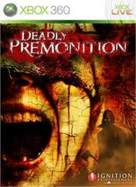 Box cover for DEADLY PREMONITION on the Microsoft Xbox 360.