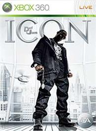 Box cover for DEF JAM: ICON on the Microsoft Xbox 360.