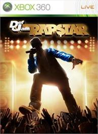 Box cover for DEF JAM RAPSTAR on the Microsoft Xbox 360.