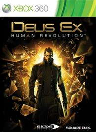 Box cover for DEUS EX: HUMAN REVOLUTION on the Microsoft Xbox 360.