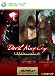 Box cover for DMC HD Collection on the Microsoft Xbox 360.