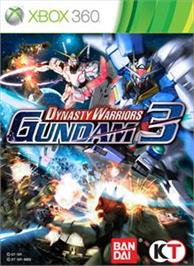 Box cover for DW: Gundam 3 on the Microsoft Xbox 360.