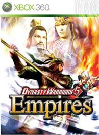Box cover for DW5 Empires on the Microsoft Xbox 360.