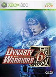 Box cover for DYNASTY WARRIORS 6 on the Microsoft Xbox 360.