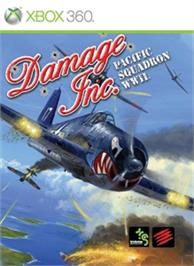 Box cover for Damage Inc. - Pacific Squadron WWII on the Microsoft Xbox 360.