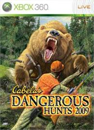 Box cover for Dangerous Hunts 2009 on the Microsoft Xbox 360.