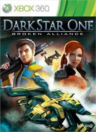 Box cover for DarkStar One on the Microsoft Xbox 360.