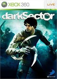 Box cover for Dark Sector on the Microsoft Xbox 360.