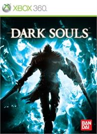 Box cover for Dark Souls on the Microsoft Xbox 360.