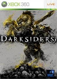 Box cover for Darksiders on the Microsoft Xbox 360.