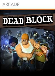 Box cover for Dead Block on the Microsoft Xbox 360.