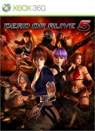Box cover for Dead or Alive 5 on the Microsoft Xbox 360.