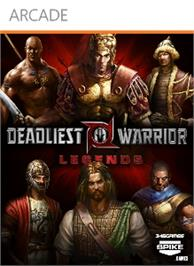 Box cover for Deadliest Warrior: Legends on the Microsoft Xbox 360.