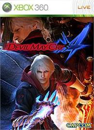 Box cover for Devil May Cry 4 on the Microsoft Xbox 360.