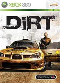 Box cover for DiRT on the Microsoft Xbox 360.