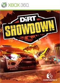 Box cover for DiRT Showdown on the Microsoft Xbox 360.