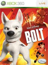 Box cover for Disney Bolt on the Microsoft Xbox 360.