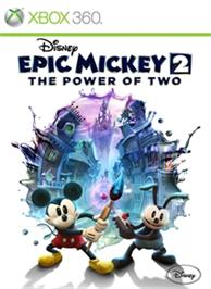 Box cover for Disney Epic Mickey 2: The Power of Two on the Microsoft Xbox 360.