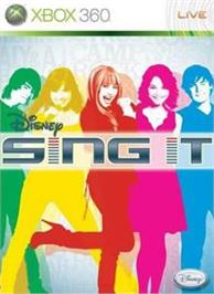 Box cover for Disney Sing It on the Microsoft Xbox 360.