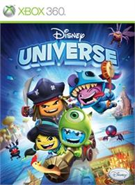 Box cover for Disney Universe on the Microsoft Xbox 360.