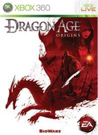 Box cover for Dragon Age: Origins on the Microsoft Xbox 360.