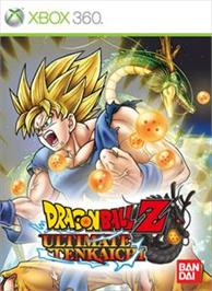 Box cover for Dragon Ball Z UT on the Microsoft Xbox 360.