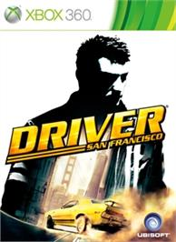Box cover for Driver San Francisco on the Microsoft Xbox 360.