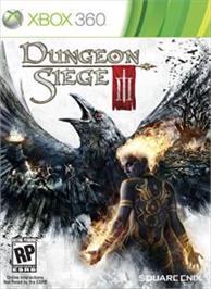 Box cover for Dungeon Siege 3 on the Microsoft Xbox 360.