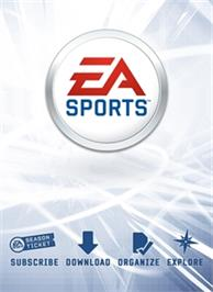 Box cover for EA SPORTS on the Microsoft Xbox 360.