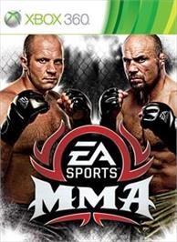 Box cover for EA SPORTS MMA on the Microsoft Xbox 360.