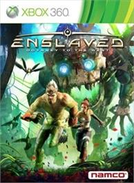 Box cover for ENSLAVED on the Microsoft Xbox 360.